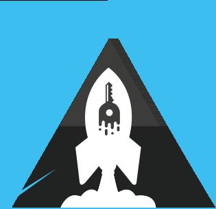 Zukunftspioniere Favicon - Rakete